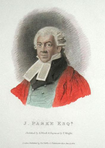 J. Parke, Esq (Restrike Etching) by Abraham Wivell