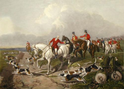 The Find (Restrike Etching) by John Frederick Herring