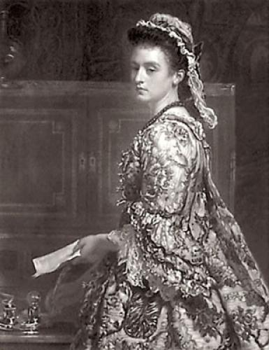 Vanessa (Restrike Etching) by Sir John Everett Millais