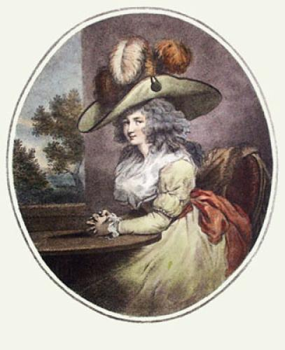 Delia in Town (Restrike Etching) by George Morland