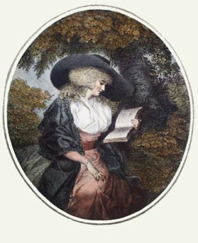 Delia in the Country (Restrike Etching) by George Morland
