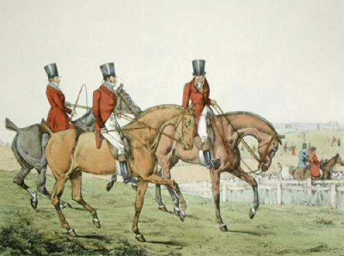 Morning - A few of ... (Restrike Etching) by Henry Alken