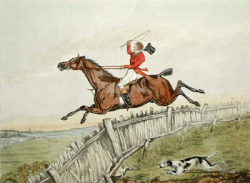 Hunting Recollections, Lord (Restrike Etching) by Henry Alken
