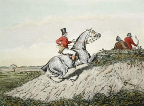 Hunting Recollections, Essex (Restrike Etching) by Henry Alken
