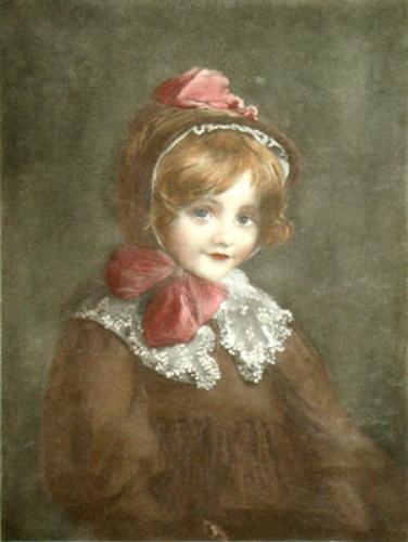 Little Elsie (Restrike Etching) by Blanche Jenkins