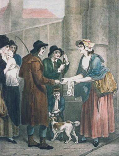 London Cries, Songs (Restrike Etching) by Francis Wheatley