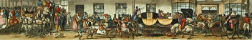 A Trip To Brighton, Pl. IV (Restrike Etching) by John D. Paul