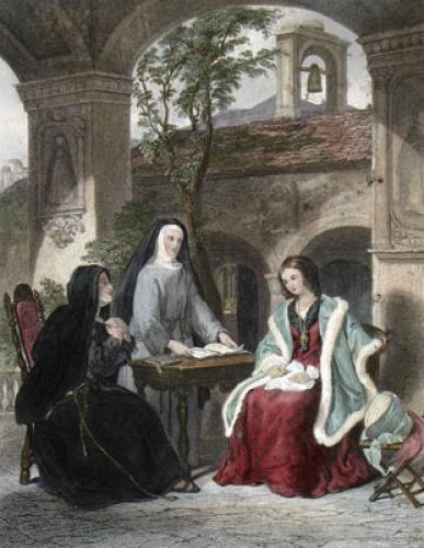 Proselytizing (Restrike Etching) by William Collins