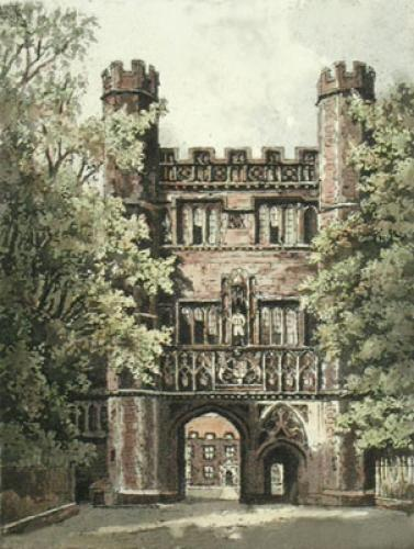 Trinity College (Restrike Etching) by Anonymous