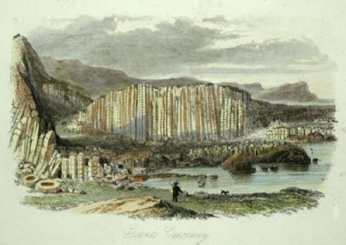 The Giant's Causeway (Restrike Etching) by Anonymous