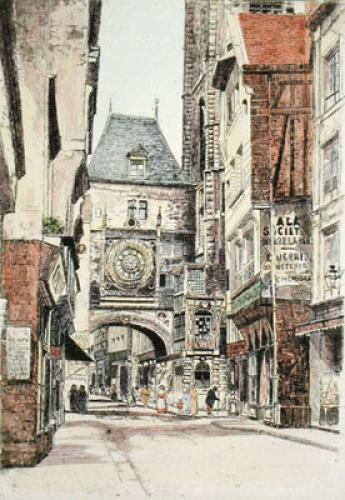 Rouen (Restrike Etching) by Anonymous