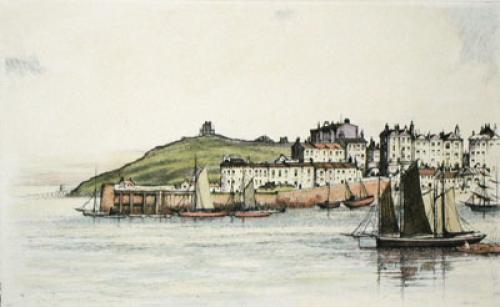 Tenby, West Wales (Restrike Etching) by Anonymous