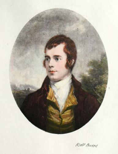 Robert Burns (Restrike Etching) by Anonymous