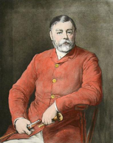 C. W. Wickstead Esq (Restrike Etching) by William Walter Ouless