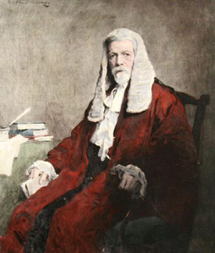 Rt.Hon. Sir F. R. Falkiner, K.C. (Restrike Etching) by Anonymous