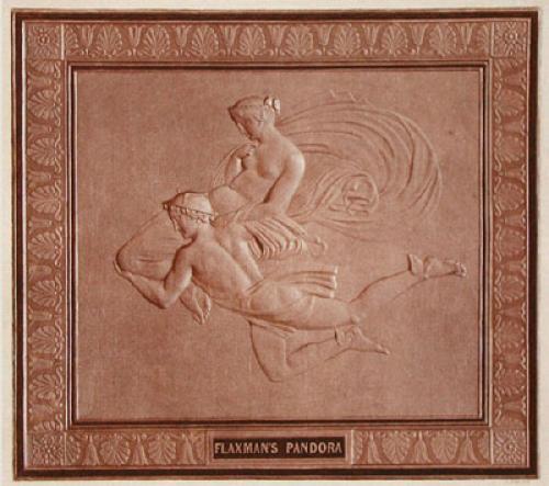 Flaxman's Pandora (Restrike Etching) by John Flaxman