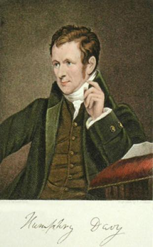 Sir Humphey Davy Bart, PRS (Restrike Etching) by James Lonsdale