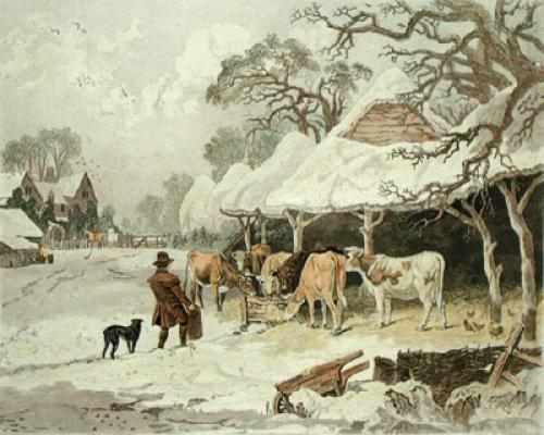 Winter - Dearman (Restrike Etching) by John Dearman