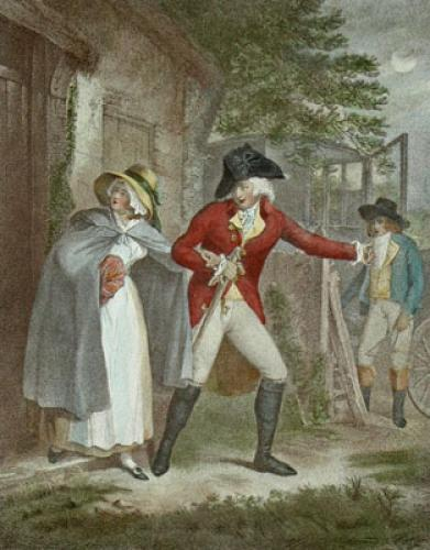 The Elopement (Restrike Etching) by George Morland