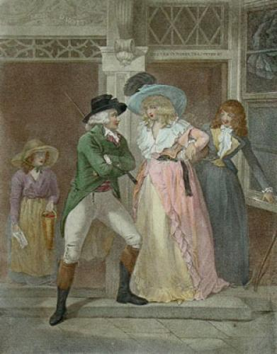 The Tavern Door (Restrike Etching) by George Morland