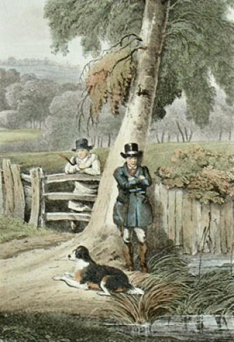 Gamekeepers (Restrike Etching) by Henry Alken
