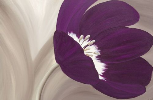 Velvet Poppy by Kaye Lake