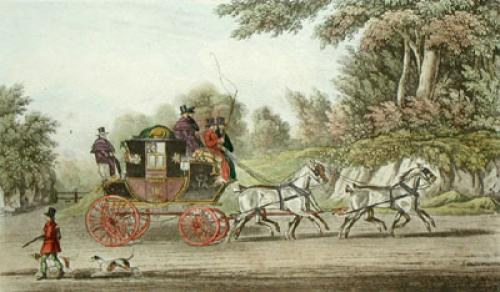 Royal Mail (Restrike Etching) by James Pollard
