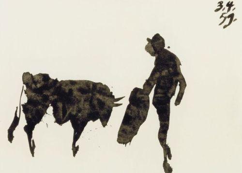Toros Y Toreros by Pablo Picasso