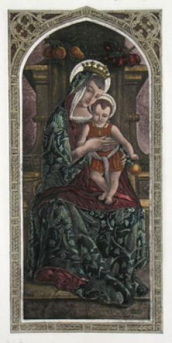 Virgin & Child (Restrike Etching) by Anonymous