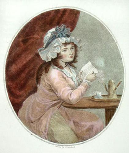 Morning (Restrike Etching) by George Morland