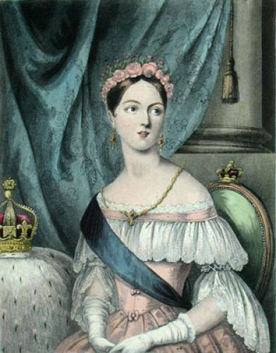 Victoria (Restrike Etching) by Anonymous