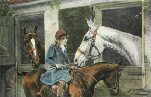 First Favourites (Restrike Etching) by George Wright