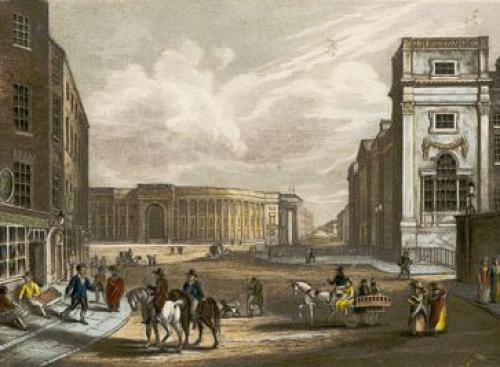 Dublin (Restrike Etching) by Anonymous