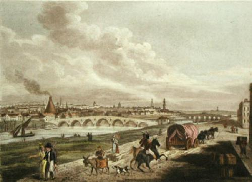 Glasgow (Restrike Etching) by Anonymous