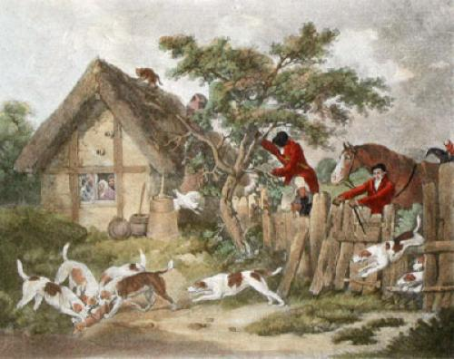 The Death (Restrike Etching) by George Morland