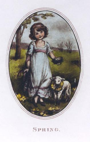 Spring - Hope (Restrike Etching) by Robert Hope