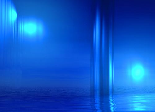Blue Pool by Erin Rafferty