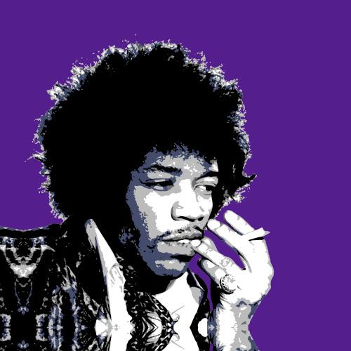 Jimi Hendrix by Erin Rafferty