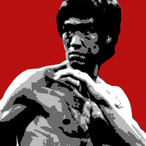 Bruce Lee by Erin Rafferty