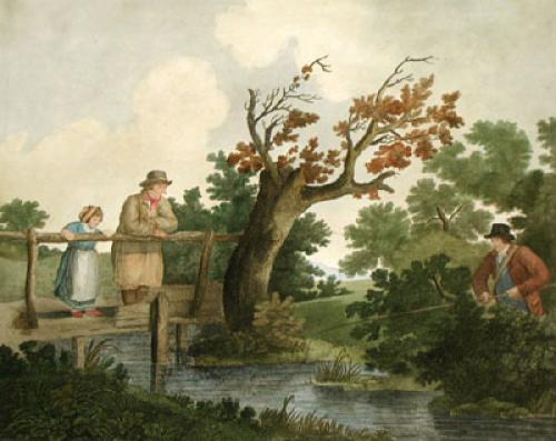 Summer's Amusement (Restrike Etching) by George Morland