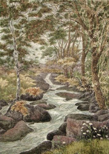 A Devonshire Glen (Restrike Etching) by Anonymous