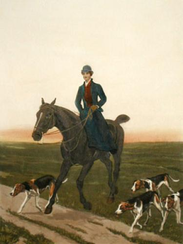Returning Home (Restrike Etching) by Francisca Stuart Sindici