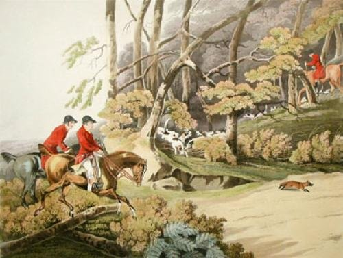 Full Cry (Restrike Etching) by Henry Alken