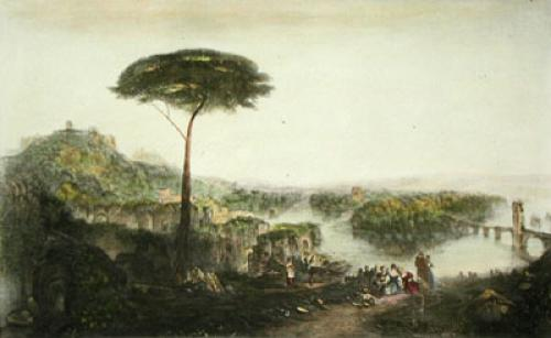 Childe Harold's Pilgrimage (Restrike Etching) by Joseph Mallord William Turner