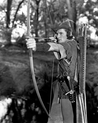 Errol Flynn (The Adventures of Robin Hood) by Hollywood Photo Archive
