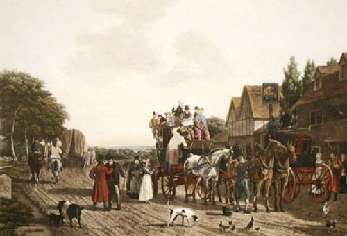 Last Journey On The Road (Restrike Etching) by J.L. Agalse