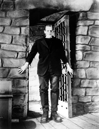 Boris Karloff (Frankenstein) by Hollywood Photo Archive