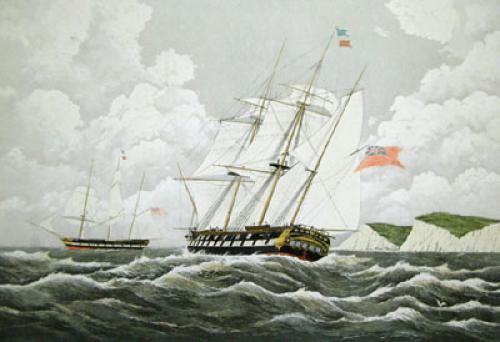 Wellington (Restrike Etching) by W.J. Huggins