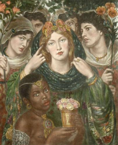 Beloved (Restrike Etching) by Dante Gabriel Rossetti