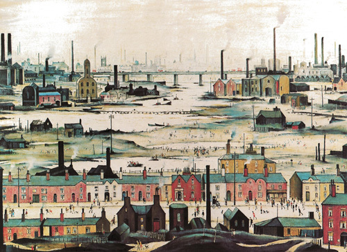 Industrial Landscape, 1950 by L S Lowry